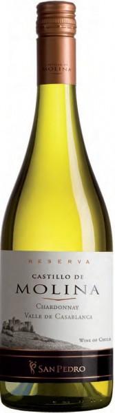 """Вино """"Castillo de Molina"""" Chardonnay Reserva, 2015"""