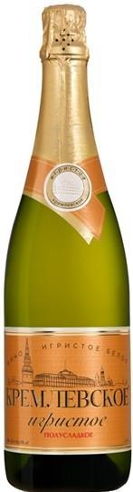 "Игристое вино Moscow Champagne Winery, ""Kremlin Sparkling"" Semi-Sweet"