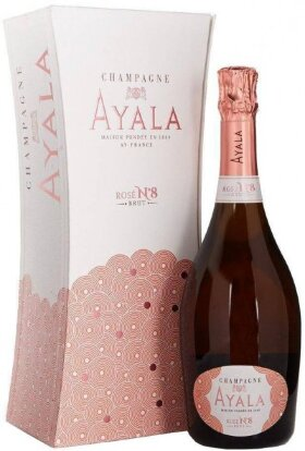"Шампанское Ayala, ""Rose №8"" Brut, gift box"