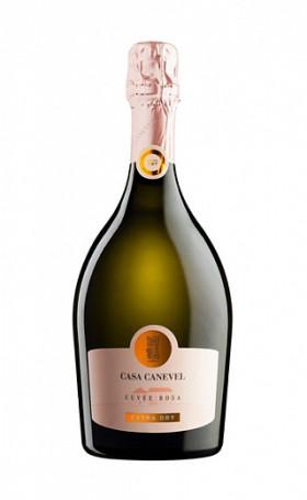 Игристое вино Canevel Cuvee Rosa Extra Dry 0.75л