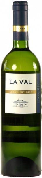 Вино La Val, Albarino, Rias Baixas DO, 2005