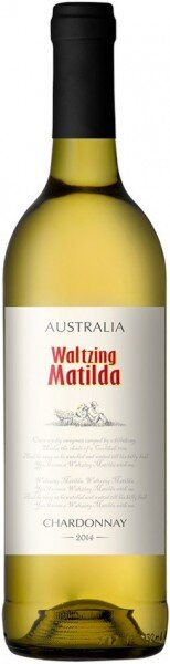 "Вино ""Waltzing Matilda"" Chardonnay, 2014"