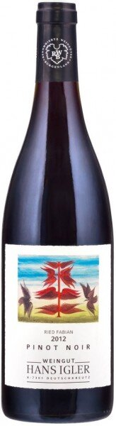 "Вино Hans Igler, Pinot Noir ""Ried Fabian"", 2012"