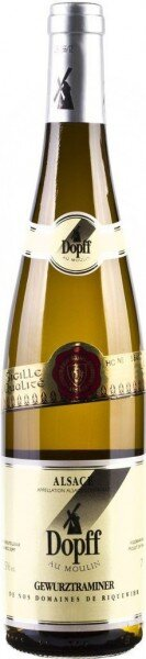 Вино Dopff au Moulin, Gewurztraminer de Riquewihr, Alsace AOC, 2013, 0.375 л