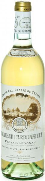 Вино Chateau Carbonnieux Blanc, Pessac-Leognan AOC Grand Cru Classe de Graves, 2005, 0.375 л