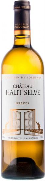 """Вино """"Chateau Haut Selve"""", Graves AOC"""