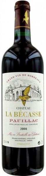 Вино Chateau La Becasse Pauillac AOC 2008