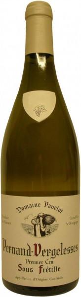 "Вино Domaine Pavelot, Pernand-Vergelesses 1er Cru ""Sous Fretille"" AOC, 2013"