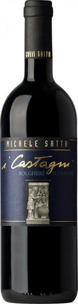 """Вино Michele Satta, """"I Castagni"""", Bolgheri Rosso Superiore DOC, 2007"""