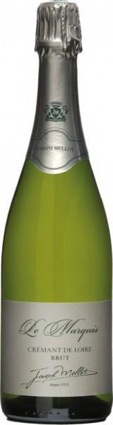 """Игристое вино Joseph Mellot, """"Le Marquis"""" Brut, Cremant de Loire AOC 2013"""