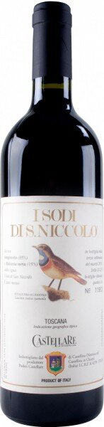"""Вино Castellare di Castellina, """"I Sodi di San Niccolo"""", Toscana IGT, 2001"""