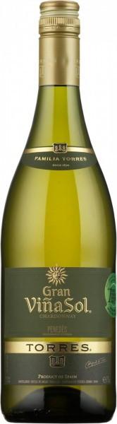 """Вино Torres, """"Gran Vina Sol"""", Penedes DO, 2014"""