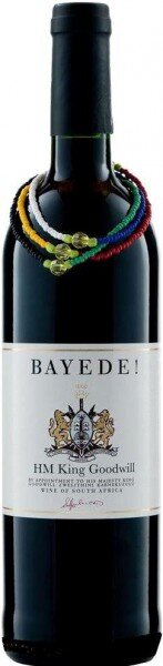 "Вино Bayede, ""HM King Goodwill"" Pinotage Reserve, 2010"