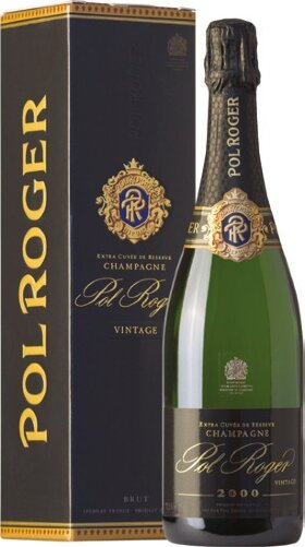 Шампанское Pol Roger, Brut Vintage, 2000, gift box