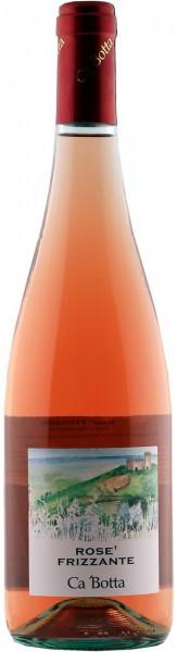 Игристое вино Ca'Botta, Rose Frizzante