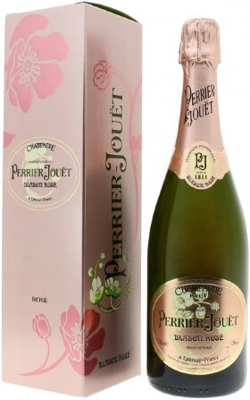Шампанское Perrier-Jouet, Blason Rose, Champagne AOC, gift box