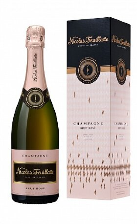 Шампанское Nicolas Feuillatte Brut Rose gift box 0.75л