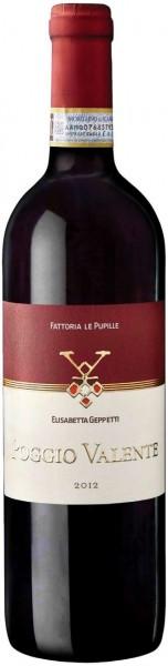 """Вино Fattoria Le Pupille, """"Poggio Valente"""", Morellino di Scansano Riserva DOC, 2012"""