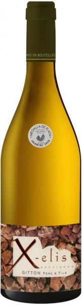 "Вино Gitton Pere & Fils, ""X-elis"" Blanc, Sancerre AOC, 2005"