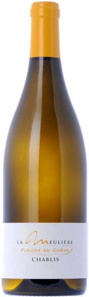"""Вино Domaine de la Meuliere, Chablis """"Fleurs de Chene"""" AOC, 2014"""