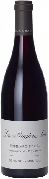 """Вино Domaine de Montille, Pommard 1-er Cru """"Les Rugiens-Bas"""" AOC, 2011"""