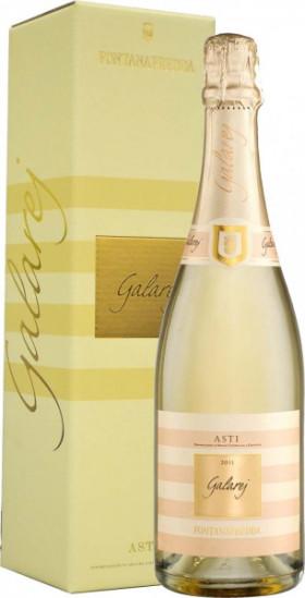 """Игристое вино Fontanafredda, """"Galarej"""", Asti DOCG, 2011, gift box"""