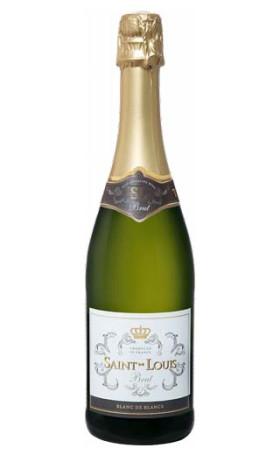 Игристое вино Barton & Guestier Saint Louis Brut Blanc de Blancs 0.75л