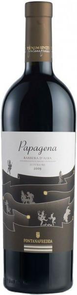 "Вино Fontanafredda, ""Papagena"", Barbera d'Alba DOC Superiore, 2009"