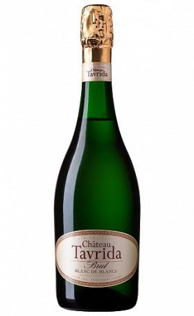 Игристое вино Шато Таврида Брют Блан де Блан 0.75л
