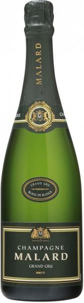 Шампанское Malard, Brut Grand Cru Blanc de Blancs