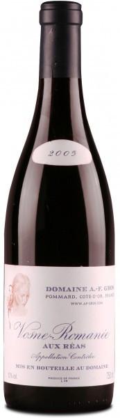 Вино Vosne-Romanee AOC Aux Reas 2005