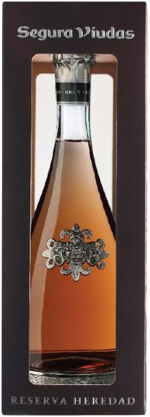 "Игристое вино Segura Viudas, Cava Brut Rose ""Reserva Heredad"", gift box"