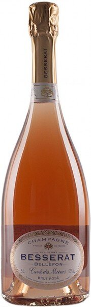 "Шампанское Besserat de Bellefon, ""Cuvee des Moines"" Brut Rose"