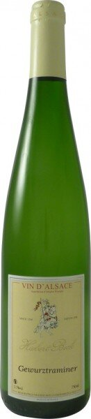 Вино Hubert Beck, Gewurztraminer, Alsace AOC