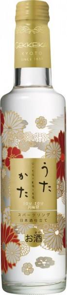 """Саке Gekkeikan, """"Utakata"""" Sparkling Sake, 0.285 л"""