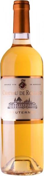 Вино Chateau de Rolland, Sauternes AOC, 2013
