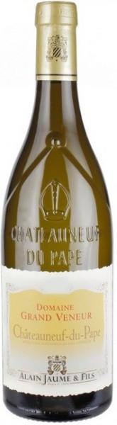 Вино Domaine Grand Veneur, Chateauneuf-du-Pape AOC Blanc, 2012