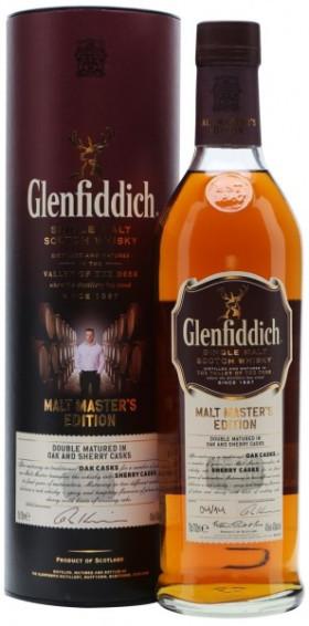 "Виски Glenfiddich, ""Malt Master's Edition"", in tube, 0.7 л"