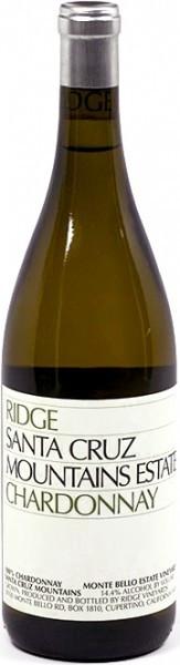 Вино California Santa Cruz Mountains Chardonnay, 2007