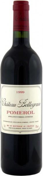 Вино Chateau Bellegrave, Pomerol AOC, 1999