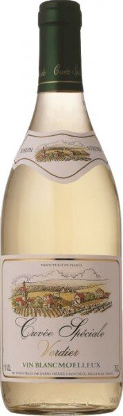"Вино Verdier, ""Cuvee Speciale"" Blanc Moelleux"