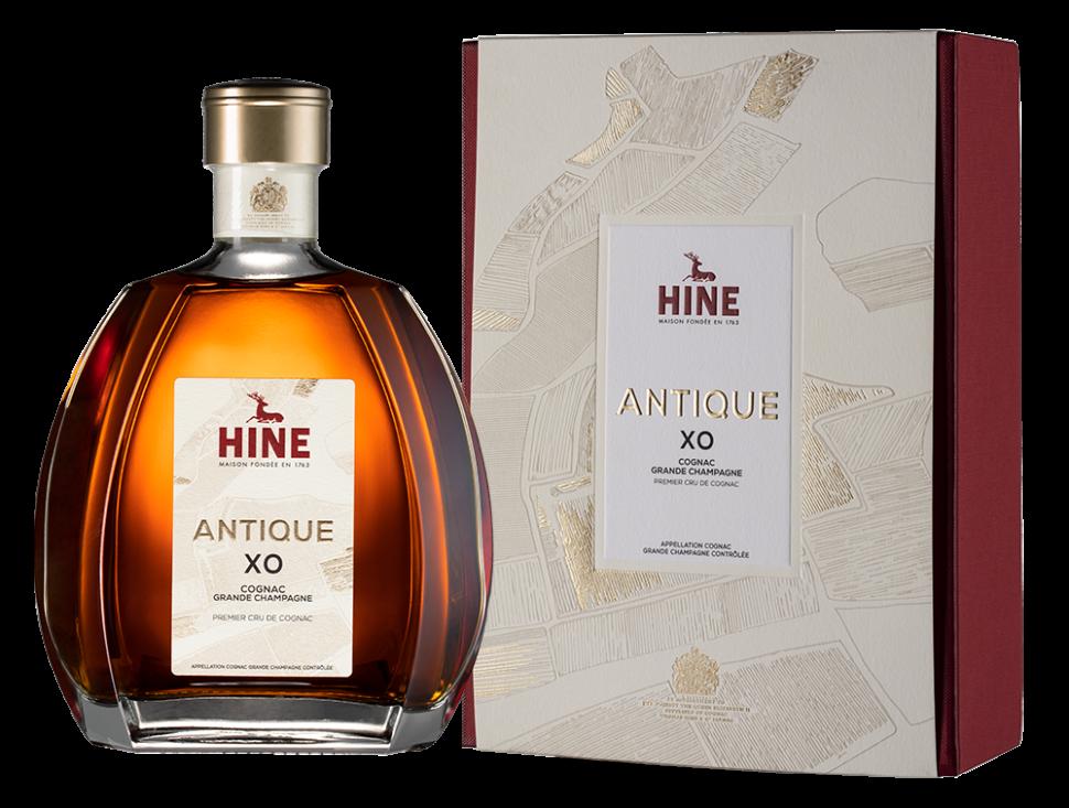 """Коньяк Hine, """"Antique"""" XO, with box, 0.7 л"""