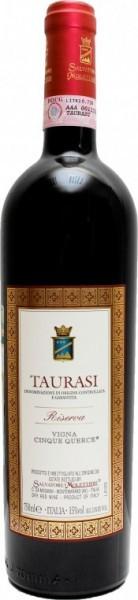 """Вино Salvatore Molettieri, """"Cinque Querce"""" Riserva, Taurasi DOCG, 2005"""
