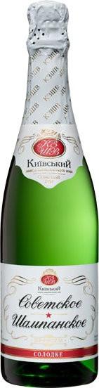 """Игристое вино """"Sovetskoe Premium"""" sweet"""