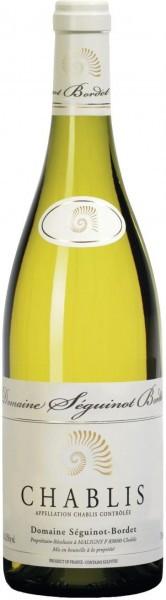 Вино Domaine Seguinot-Bordet, Chablis AOC, 2015, 375 мл