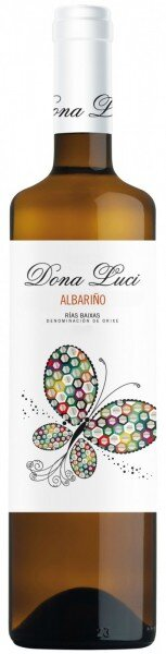 "Вино Vinigalicia, ""Dona Luci"" Albarino, Rias Baixas DO, 2014"