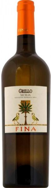 Вино Fina, Grillo, Sicilia IGT, 2010