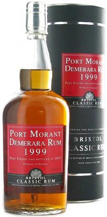 """Ром Bristol Classic Rum, """"Port Morant"""" Demerara Rum, 1999, gift tube, 0.7 л"""