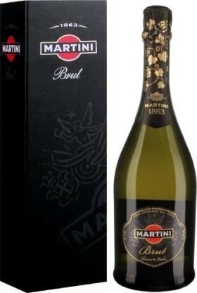 Игристое вино Martini Brut, gift box