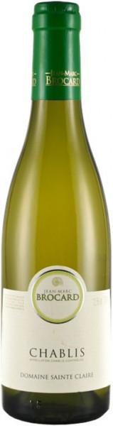 Вино Jean-Marc Brocard, Chablis AOC, 2015, 0.375 л